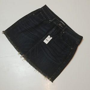 Express - Demim Mini Skirt